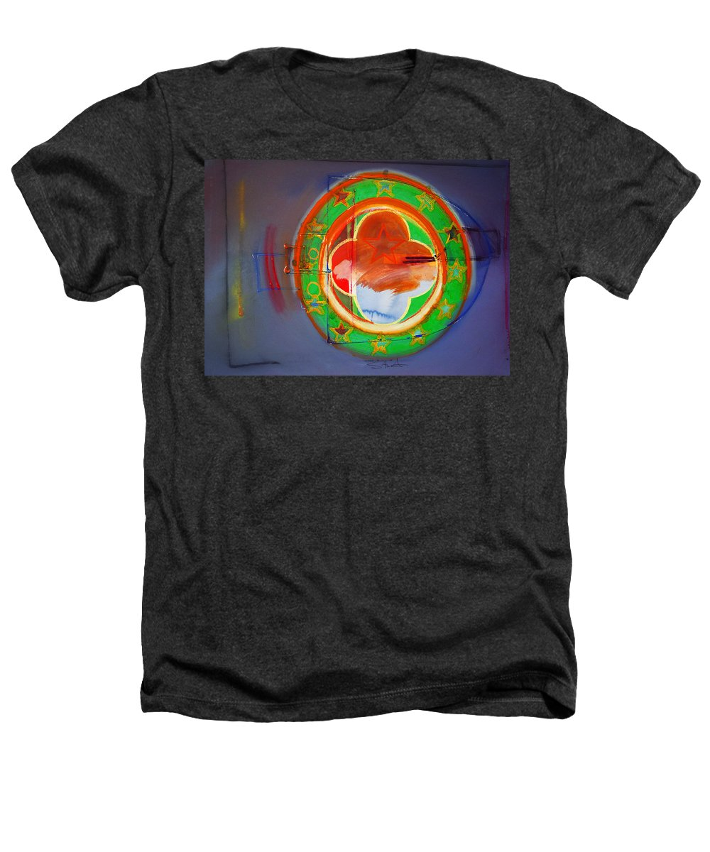Symbol Heathers T-Shirt featuring the painting Ship Of State by Charles Stuart
