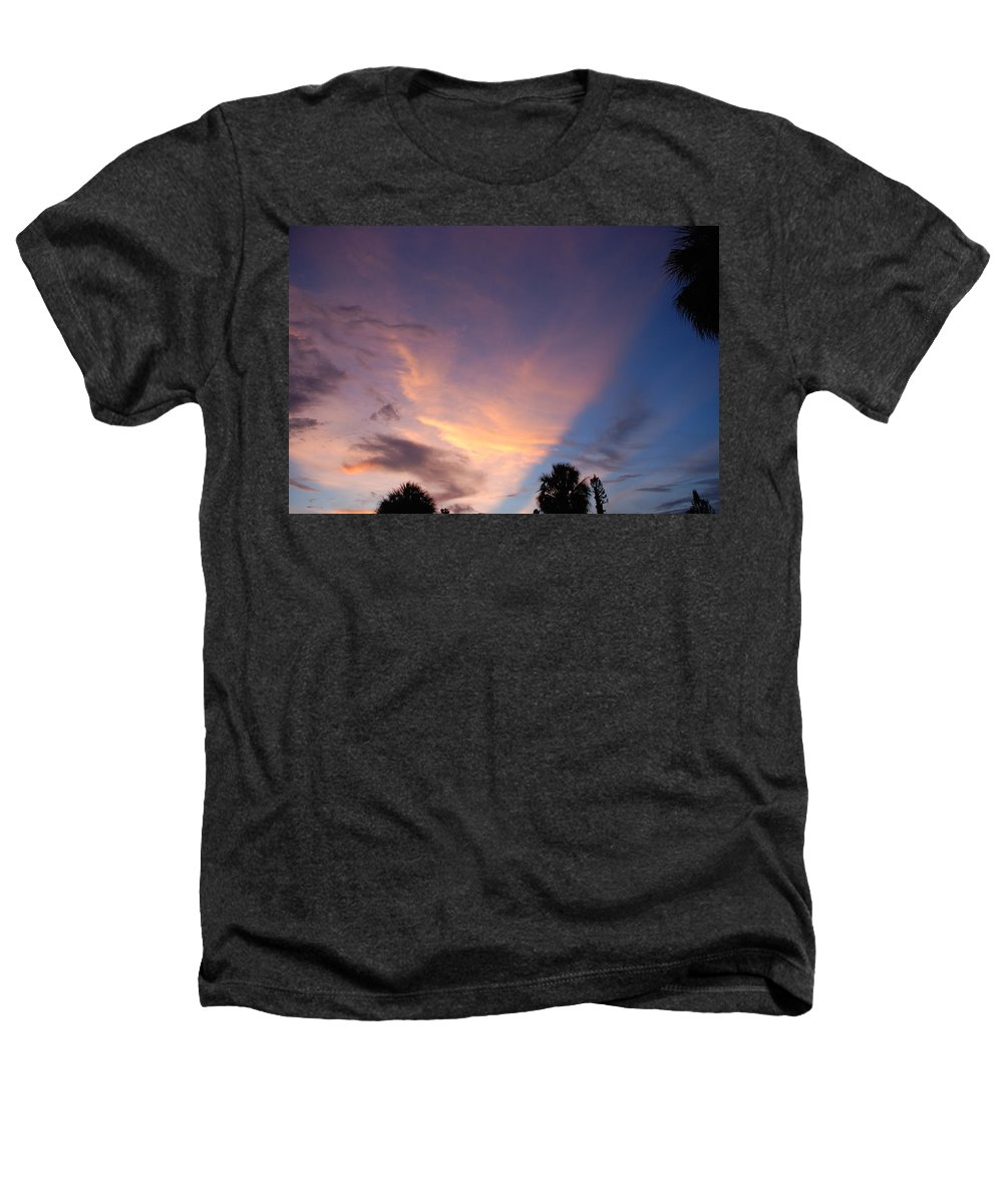 Sunset Heathers T-Shirt featuring the photograph Sunset At Pine Tree by Rob Hans