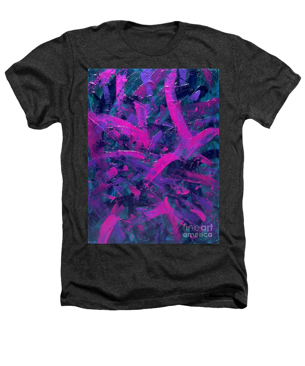 Abstract Heathers T-Shirt featuring the painting Untitled by Dean Triolo