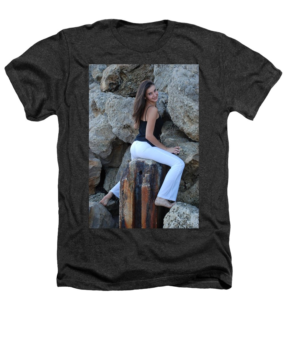 Women Heathers T-Shirt featuring the photograph Gisele by Rob Hans