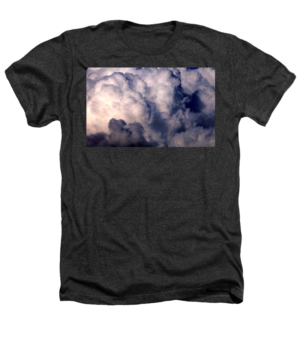 Clay Heathers T-Shirt featuring the photograph Clouds by Clayton Bruster