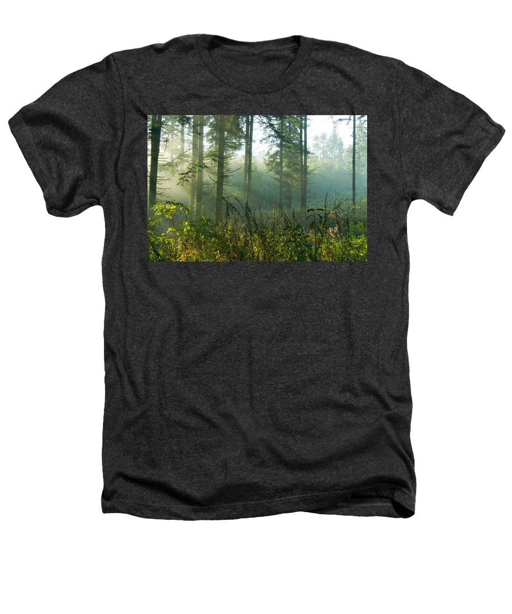 Nature Heathers T-Shirt featuring the photograph A New Day Has Come by Daniel Csoka
