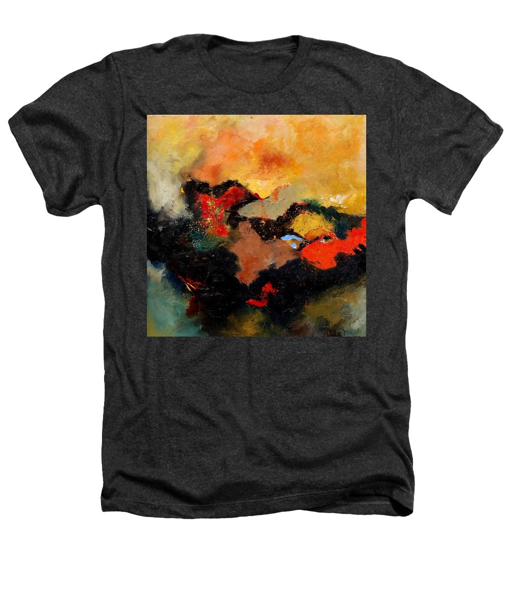 Abstract Heathers T-Shirt featuring the painting Abstract 8080 by Pol Ledent