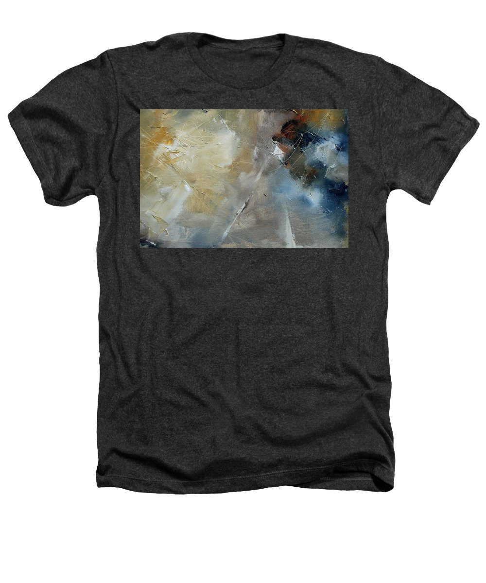 Abstract Heathers T-Shirt featuring the painting Abstract 904060 by Pol Ledent