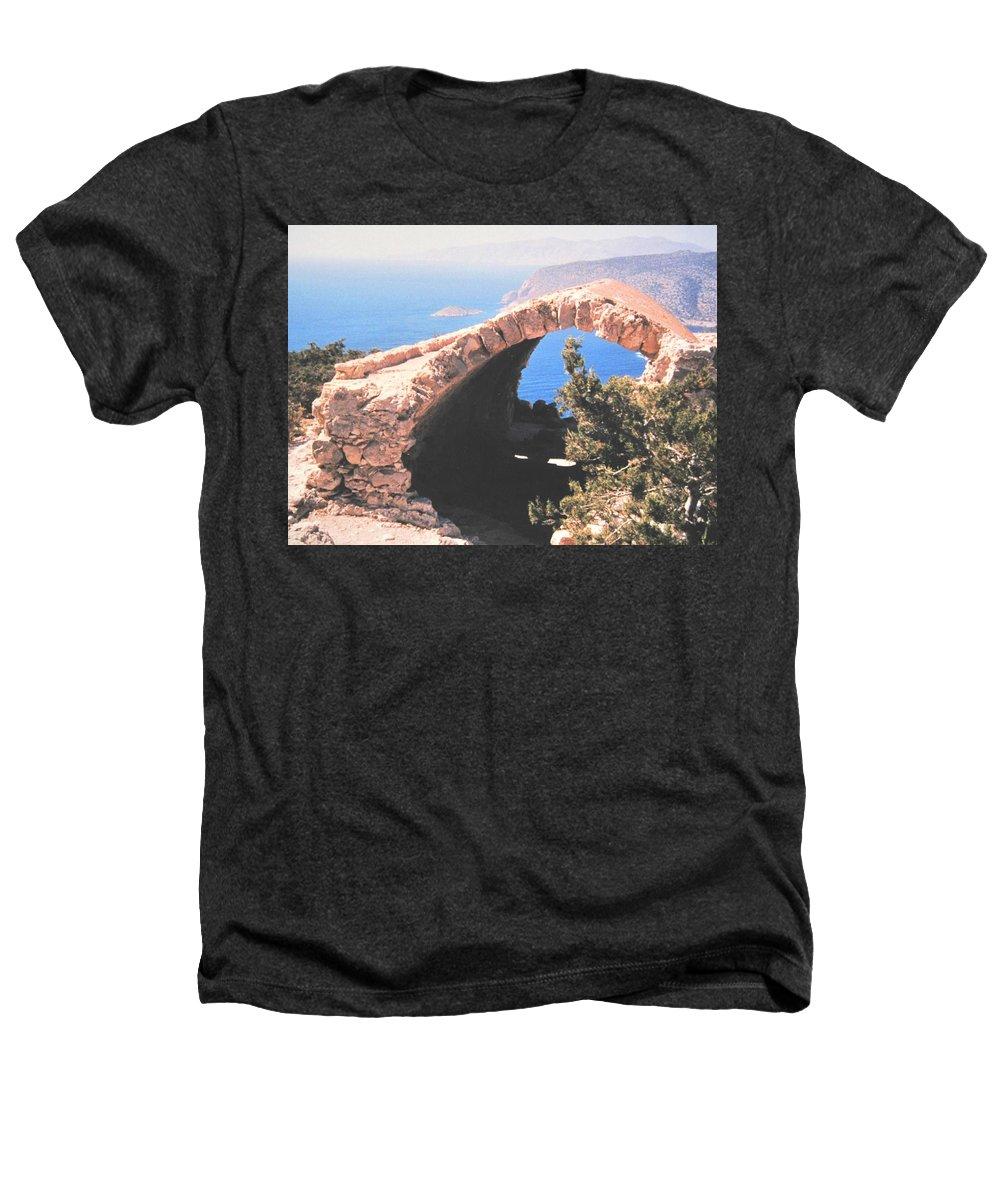 Greece Heathers T-Shirt featuring the photograph Across To Turkey by Ian MacDonald
