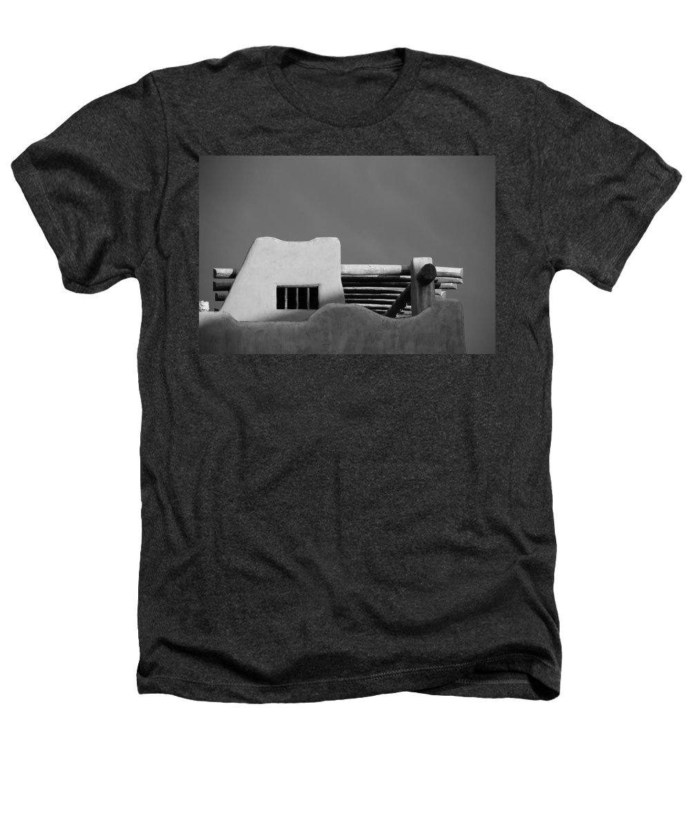 Architecture Heathers T-Shirt featuring the photograph Adobe Turrett by Rob Hans