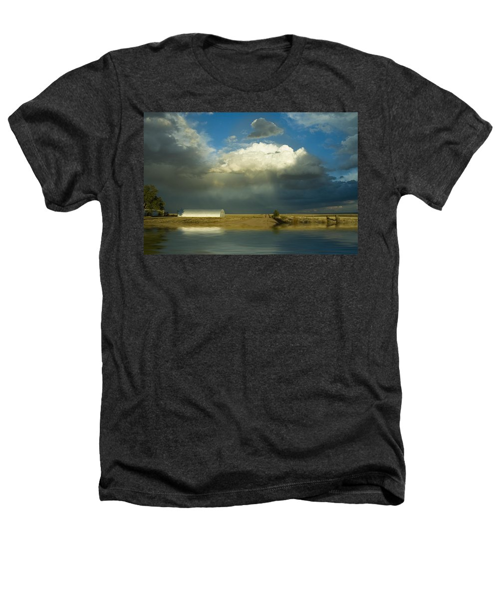 Storm Heathers T-Shirt featuring the photograph After The Storm by Jerry McElroy