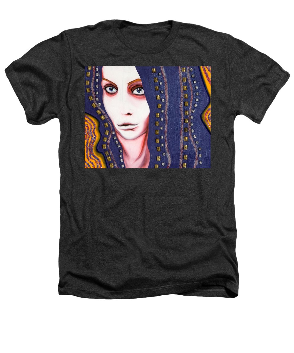 Woman Heathers T-Shirt featuring the painting Alice by Sheridan Furrer