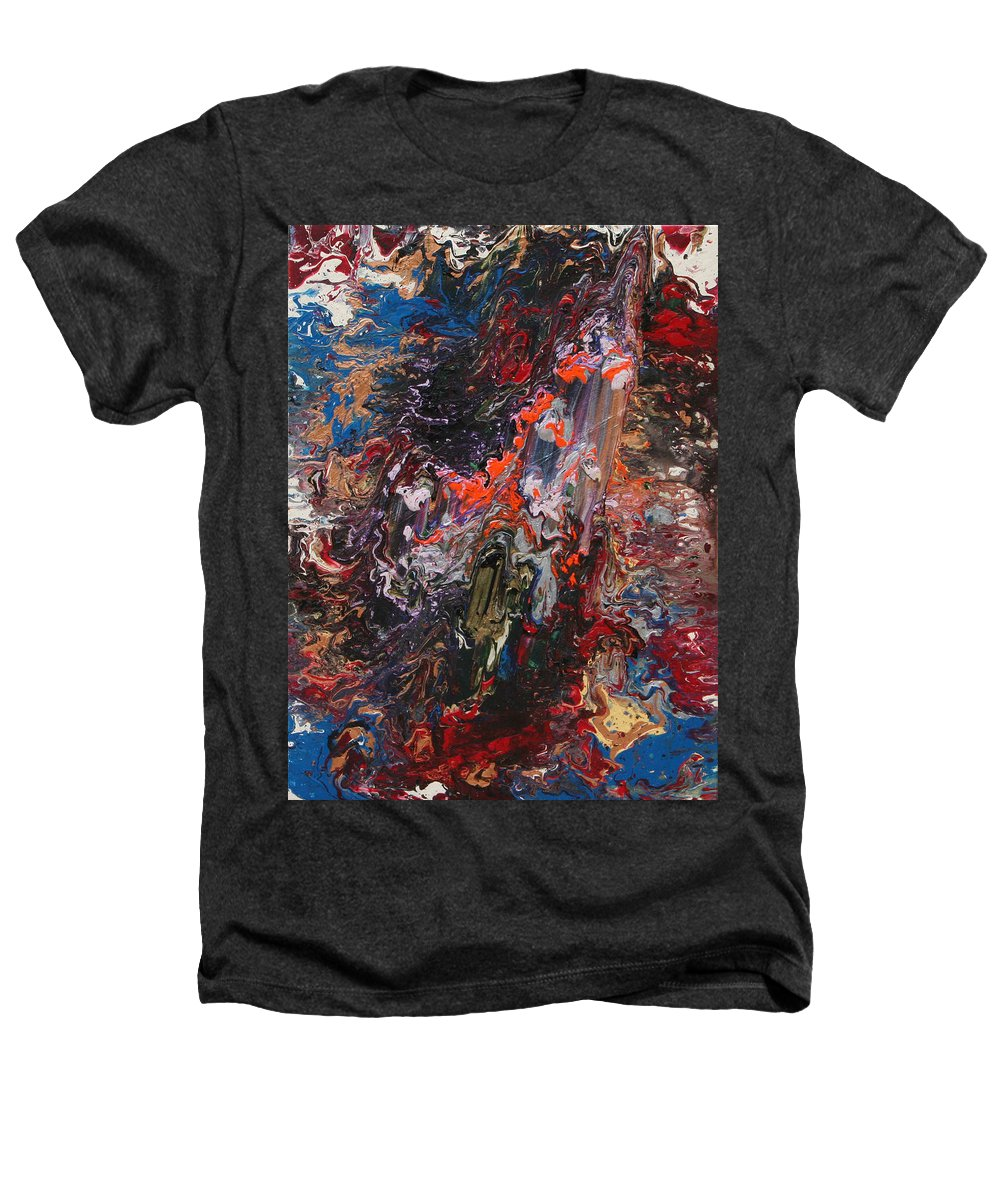 Fusionart Heathers T-Shirt featuring the painting Angel Rising by Ralph White
