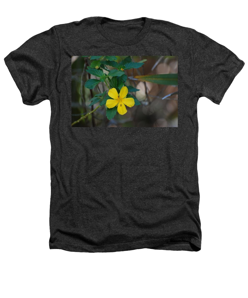 Macro Heathers T-Shirt featuring the photograph Ant Flowers by Rob Hans