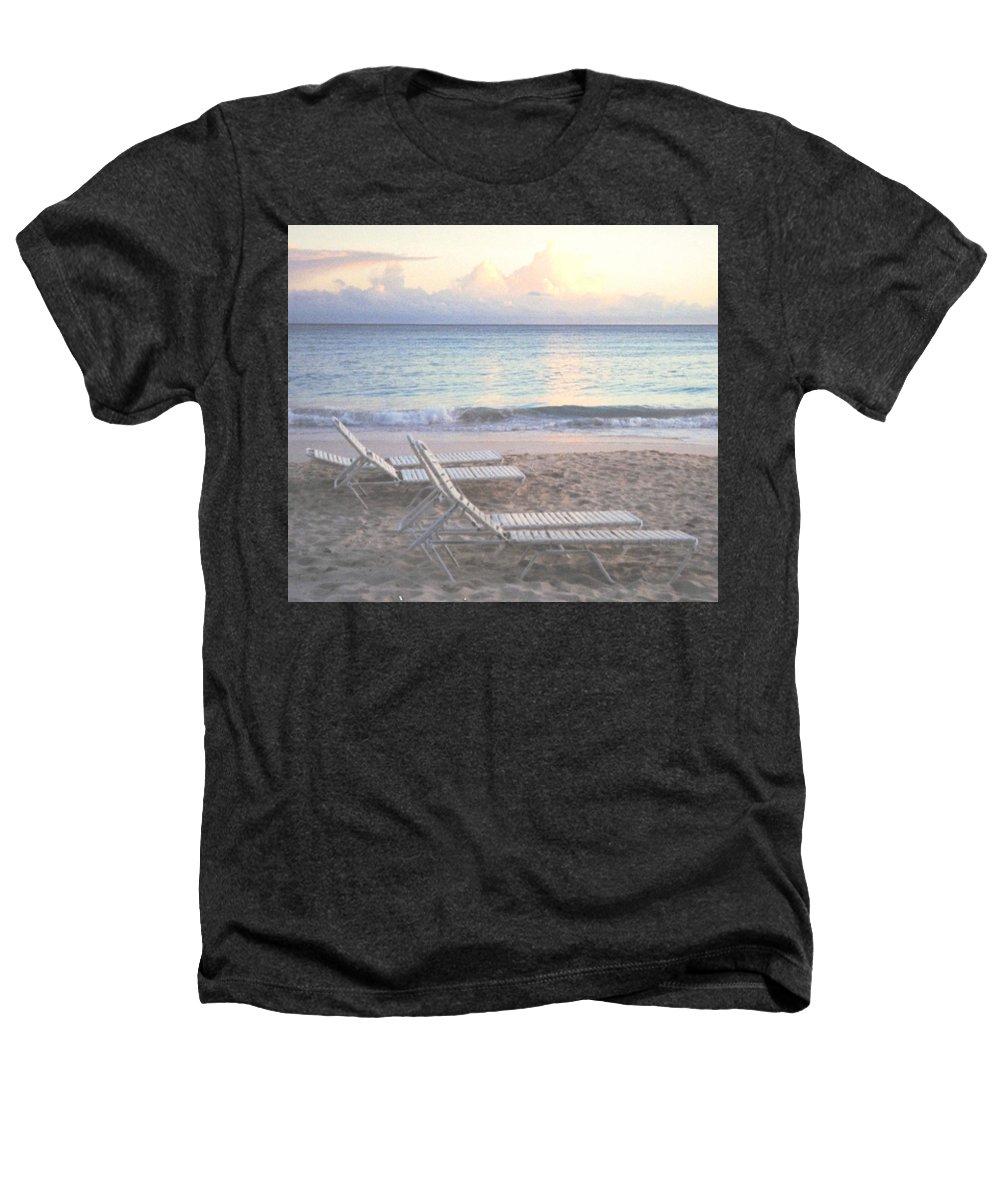 Aruba Heathers T-Shirt featuring the photograph Aruba Beach by Ian MacDonald