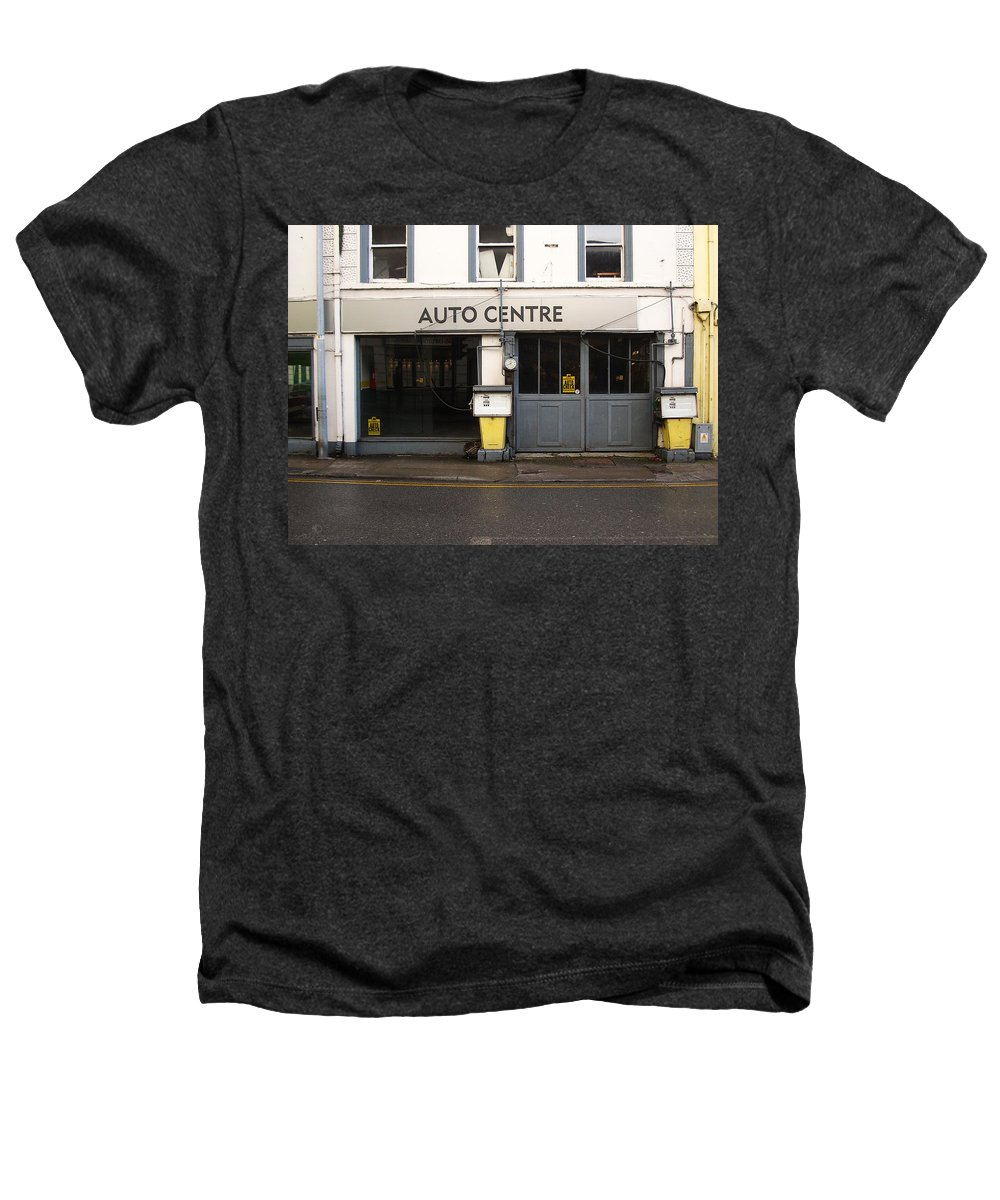 Auto Heathers T-Shirt featuring the photograph Auto Centre by Tim Nyberg
