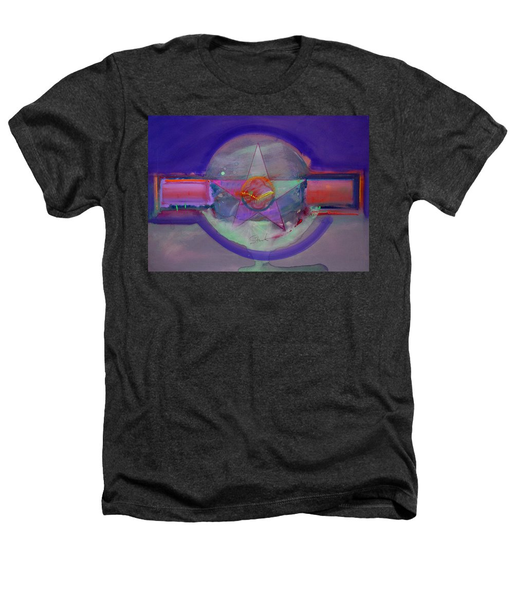 Usaaf Insignia Heathers T-Shirt featuring the painting Battlefield by Charles Stuart