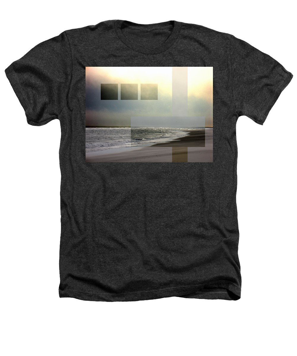 Beach Heathers T-Shirt featuring the photograph Beach Collage 2 by Steve Karol