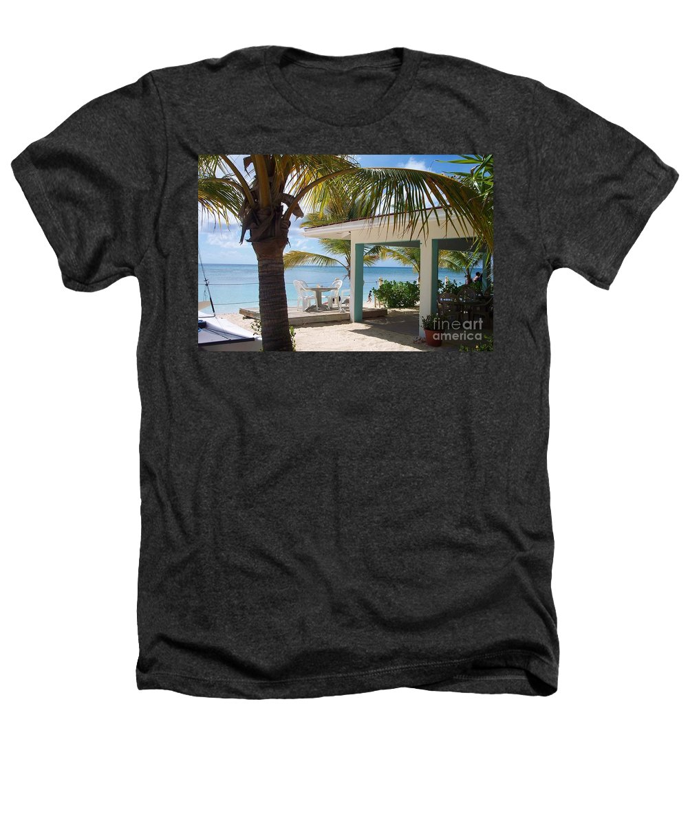 Beach Heathers T-Shirt featuring the photograph Beach In Grand Turk by Debbi Granruth