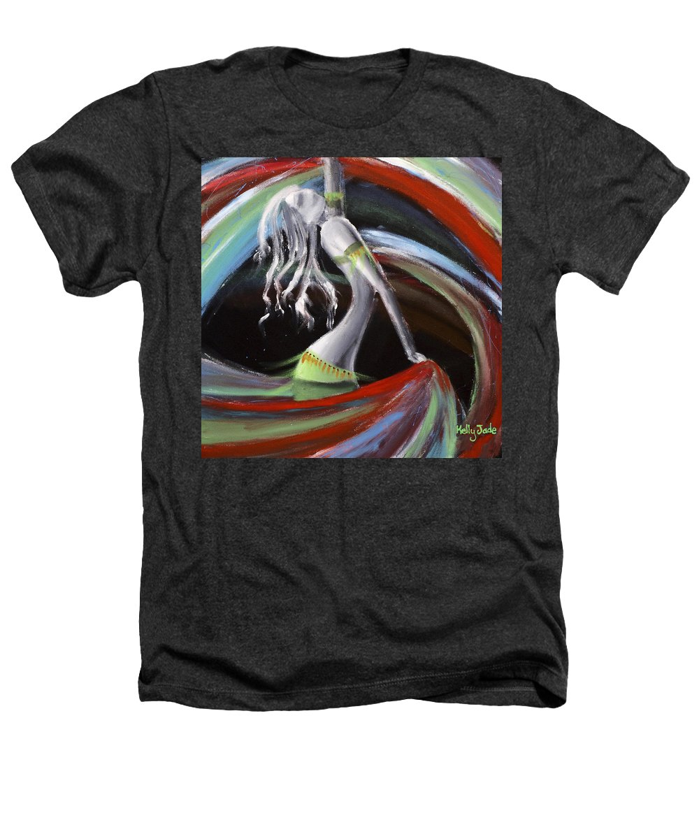 Colourful Heathers T-Shirt featuring the painting Belly Dancer by Kelly Jade King
