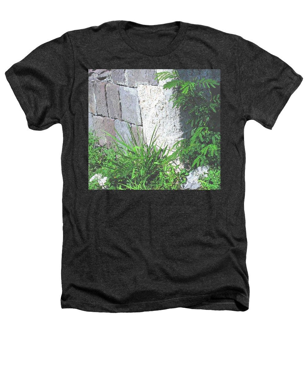 Brimstone Heathers T-Shirt featuring the photograph Brimstone Wall by Ian MacDonald