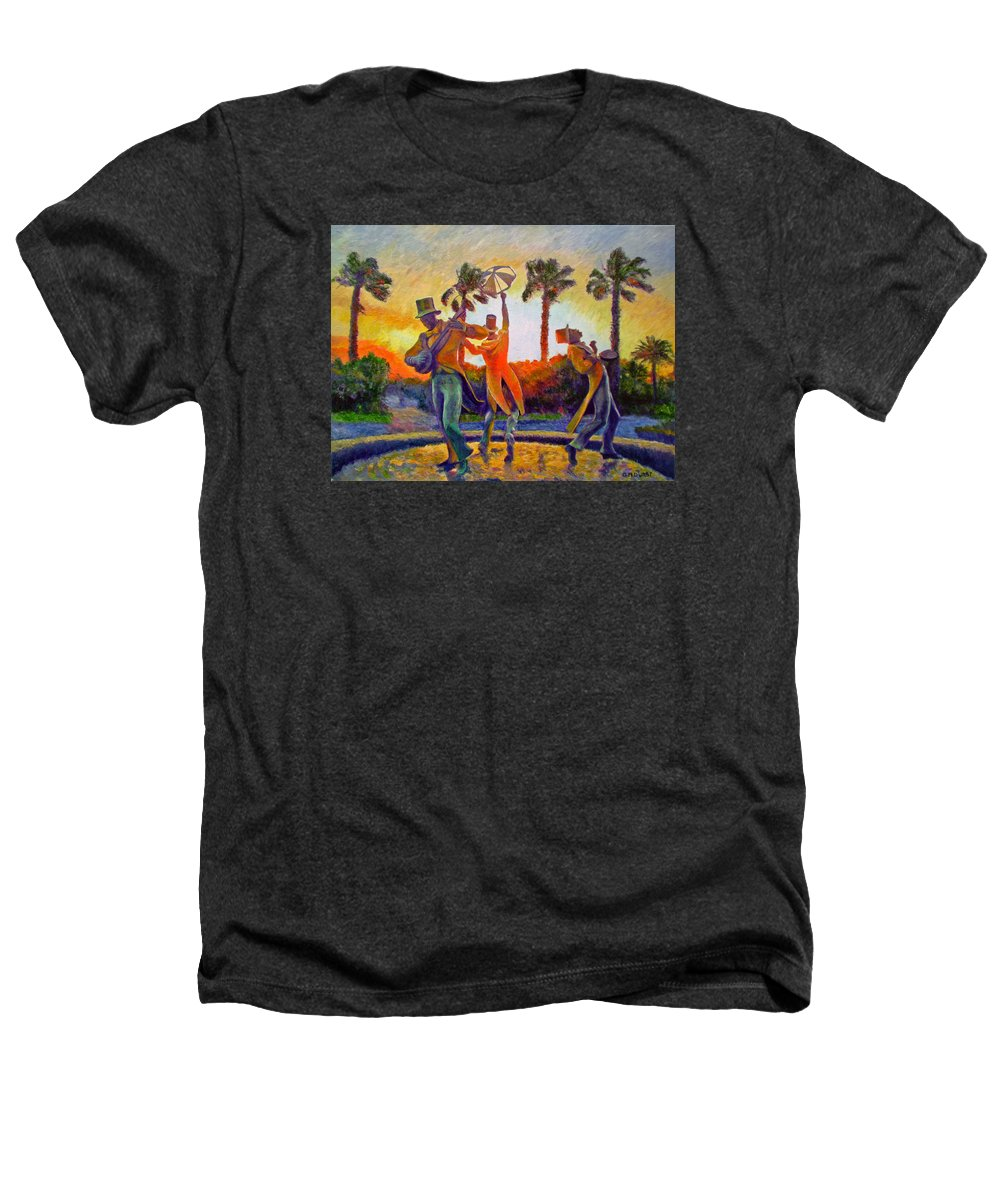 Sunset Heathers T-Shirt featuring the painting Cape Minstrels by Michael Durst