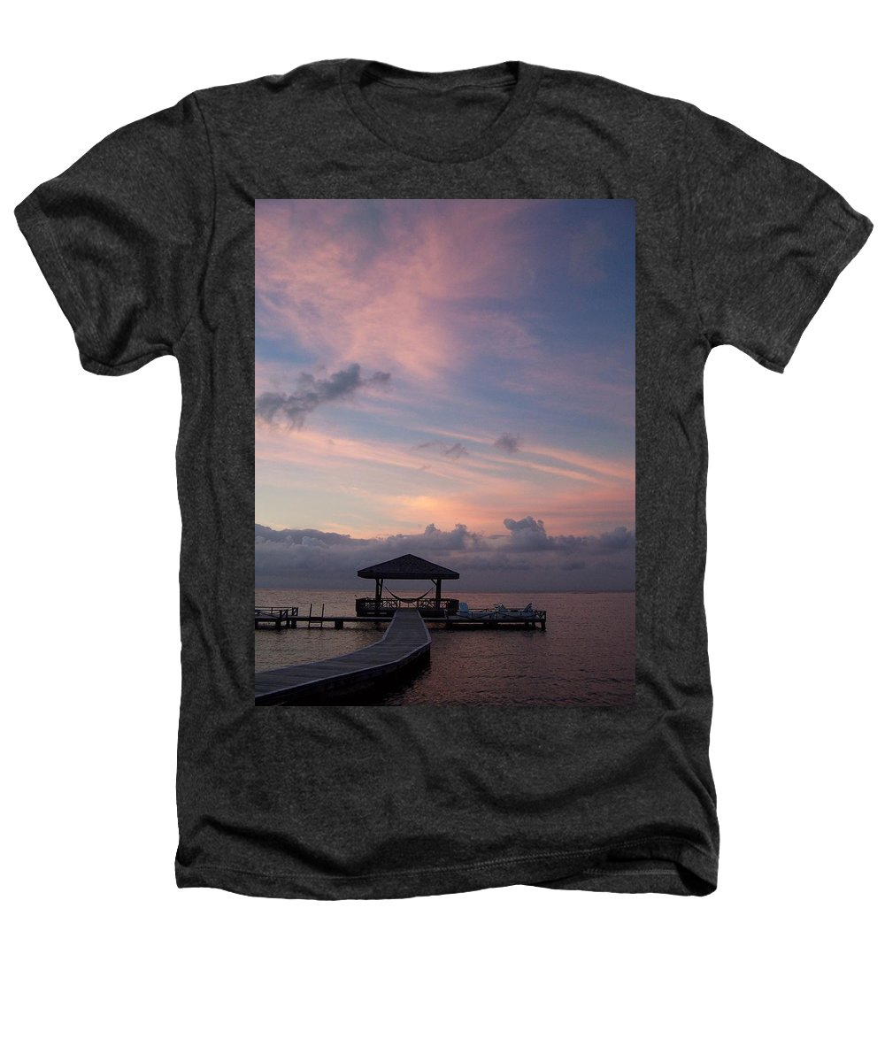 Ocean Heathers T-Shirt featuring the photograph Caribbean Sunrise by Gale Cochran-Smith