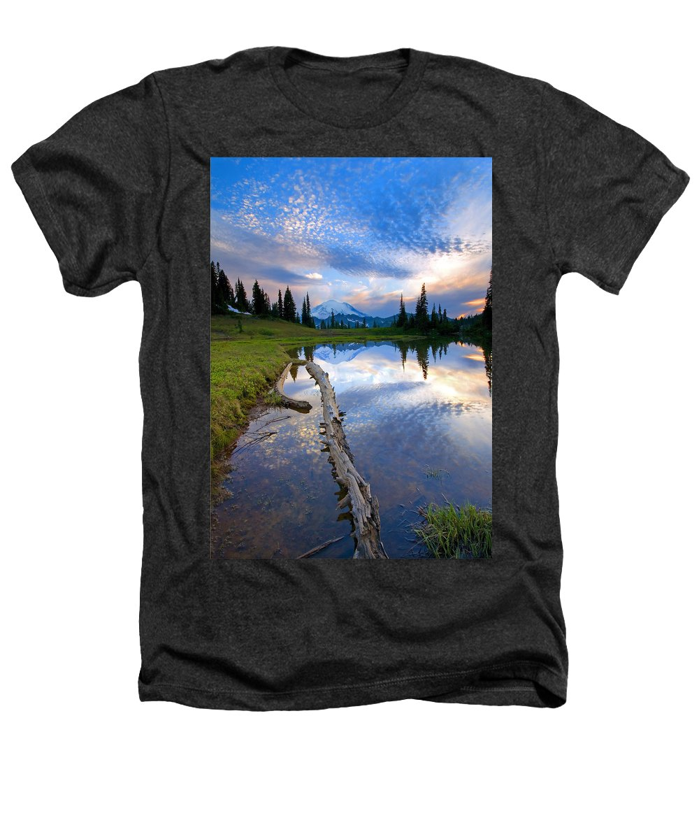 Landscape Heathers T-Shirt featuring the photograph Cloud Explosion by Mike Dawson