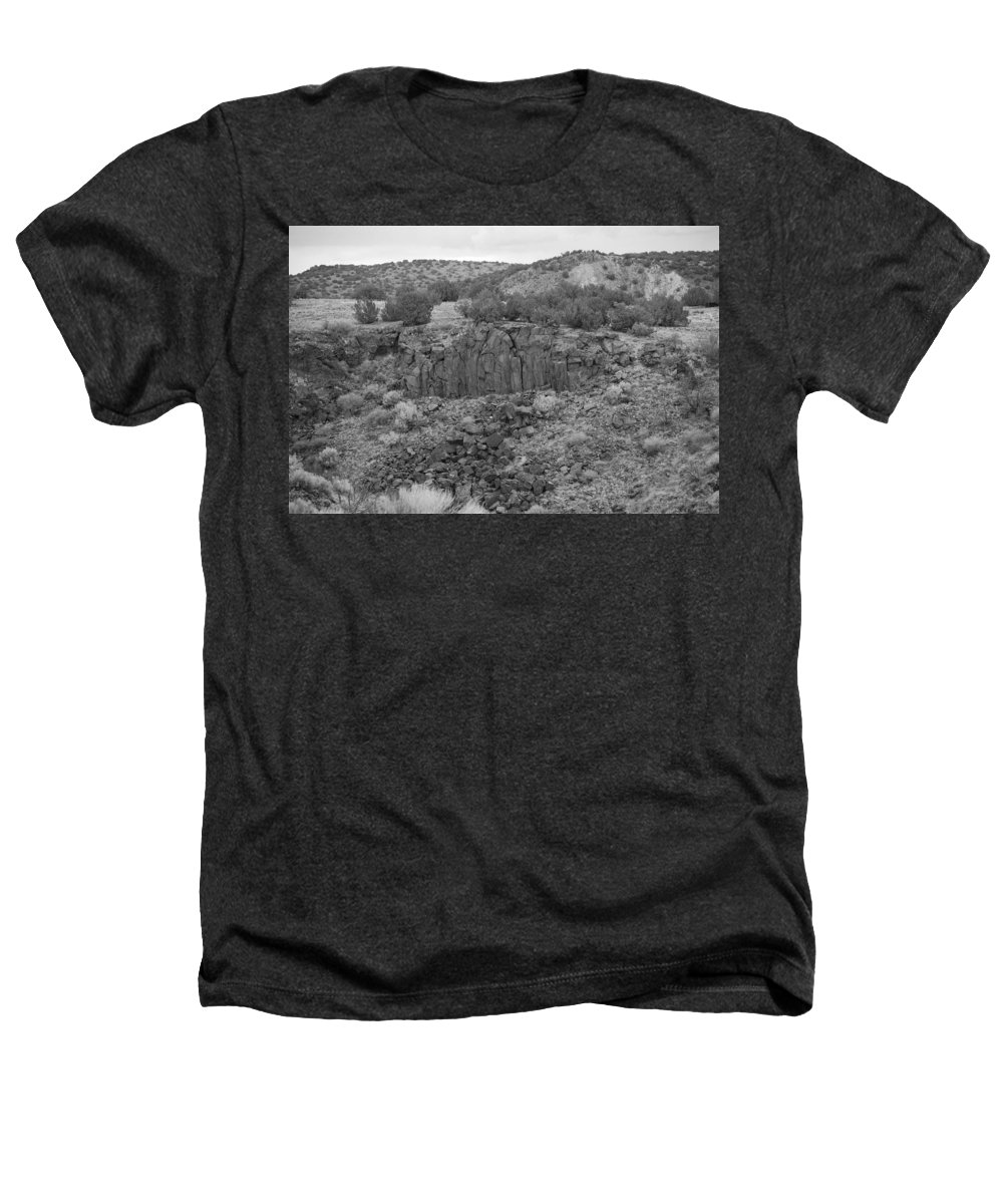 Rocks Heathers T-Shirt featuring the photograph Cochiti Rocks by Rob Hans