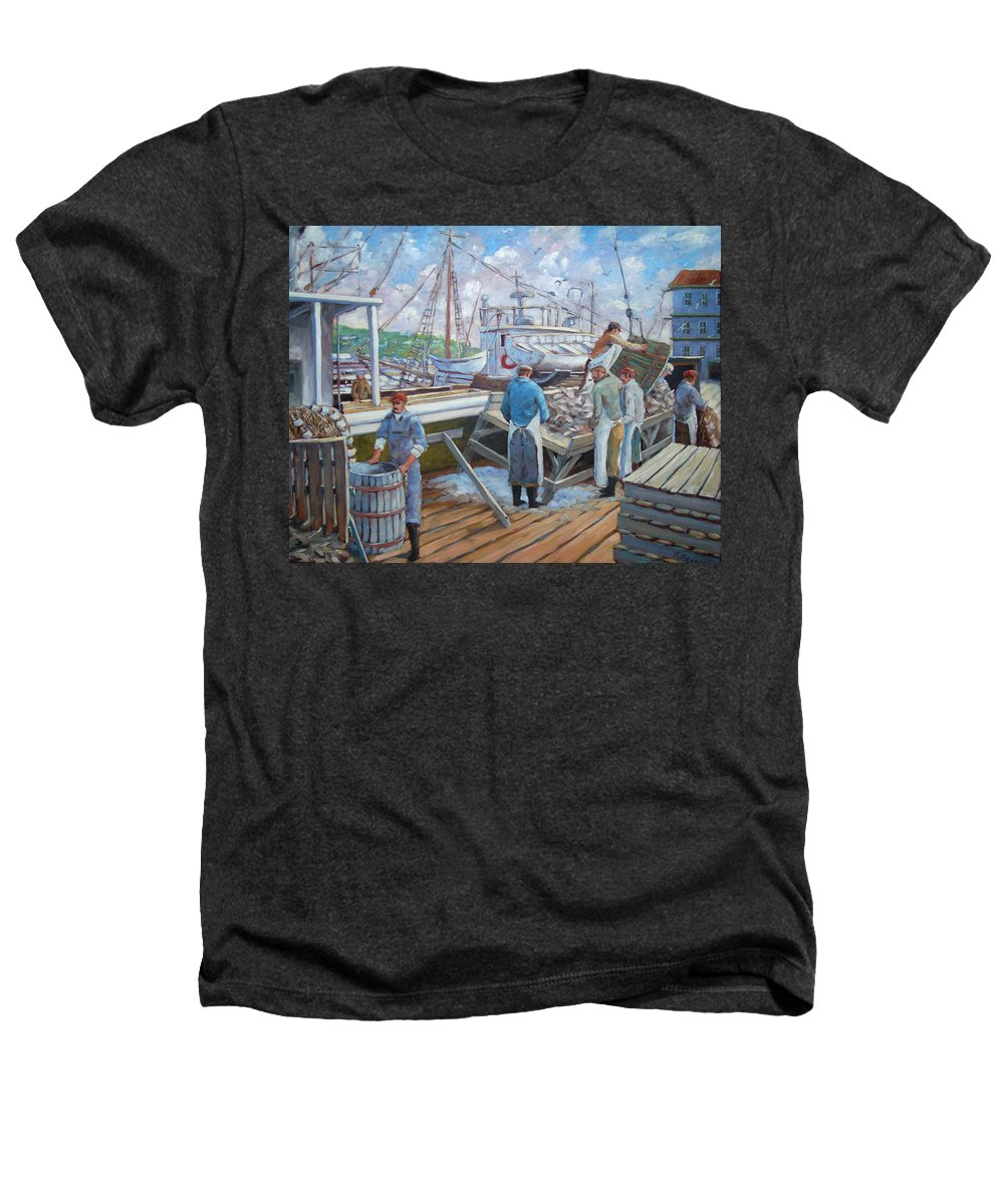 Cod Heathers T-Shirt featuring the painting Cod Memories by Richard T Pranke