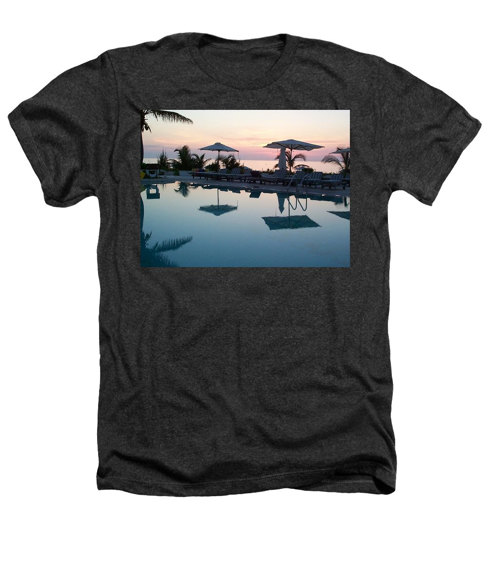 Charity Heathers T-Shirt featuring the photograph Columbus Isle by Mary-Lee Sanders