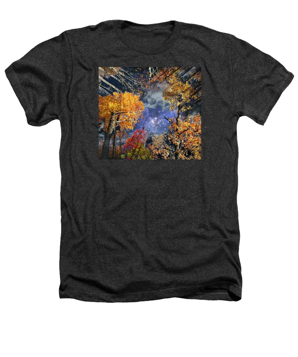 Deep Space Heathers T-Shirt featuring the photograph Deep Canopy by Dave Martsolf