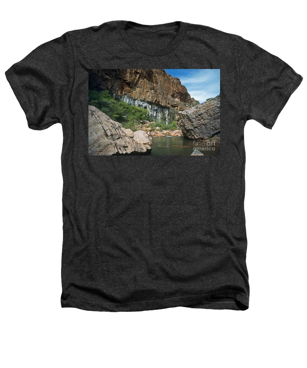 Landscape Heathers T-Shirt featuring the photograph Deep Water by Kathy McClure