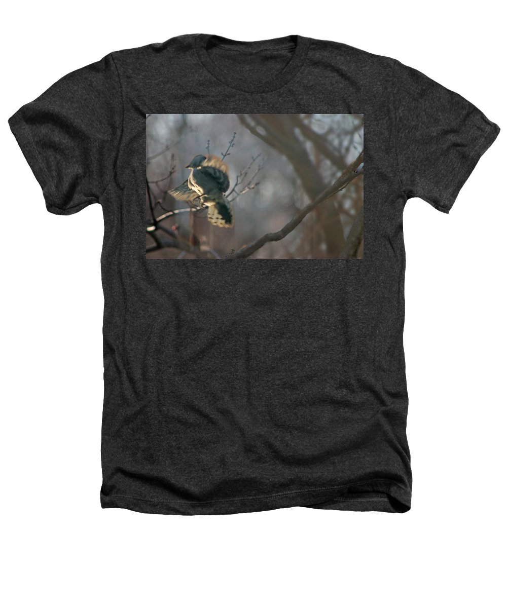 Nature Heathers T-Shirt featuring the photograph Downey Woodpecker by Steve Karol