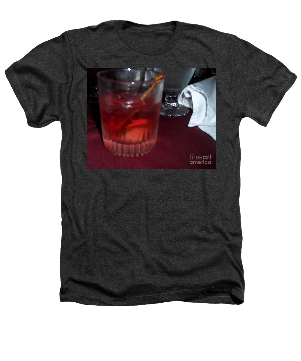 Drinks Heathers T-Shirt featuring the photograph Drink Up by Debbi Granruth