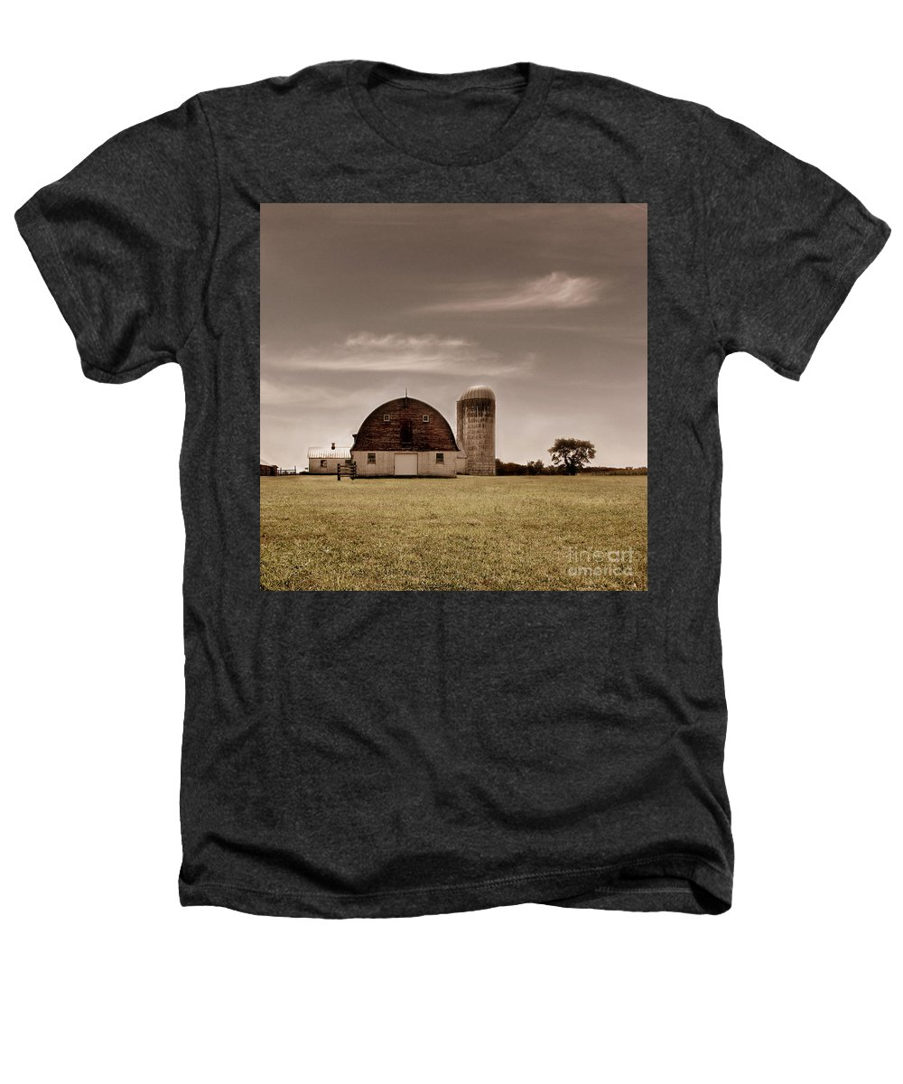 Farm Heathers T-Shirt featuring the photograph Dry Earth Crumbles Between My Fingers And I Look To The Sky For Rain by Dana DiPasquale