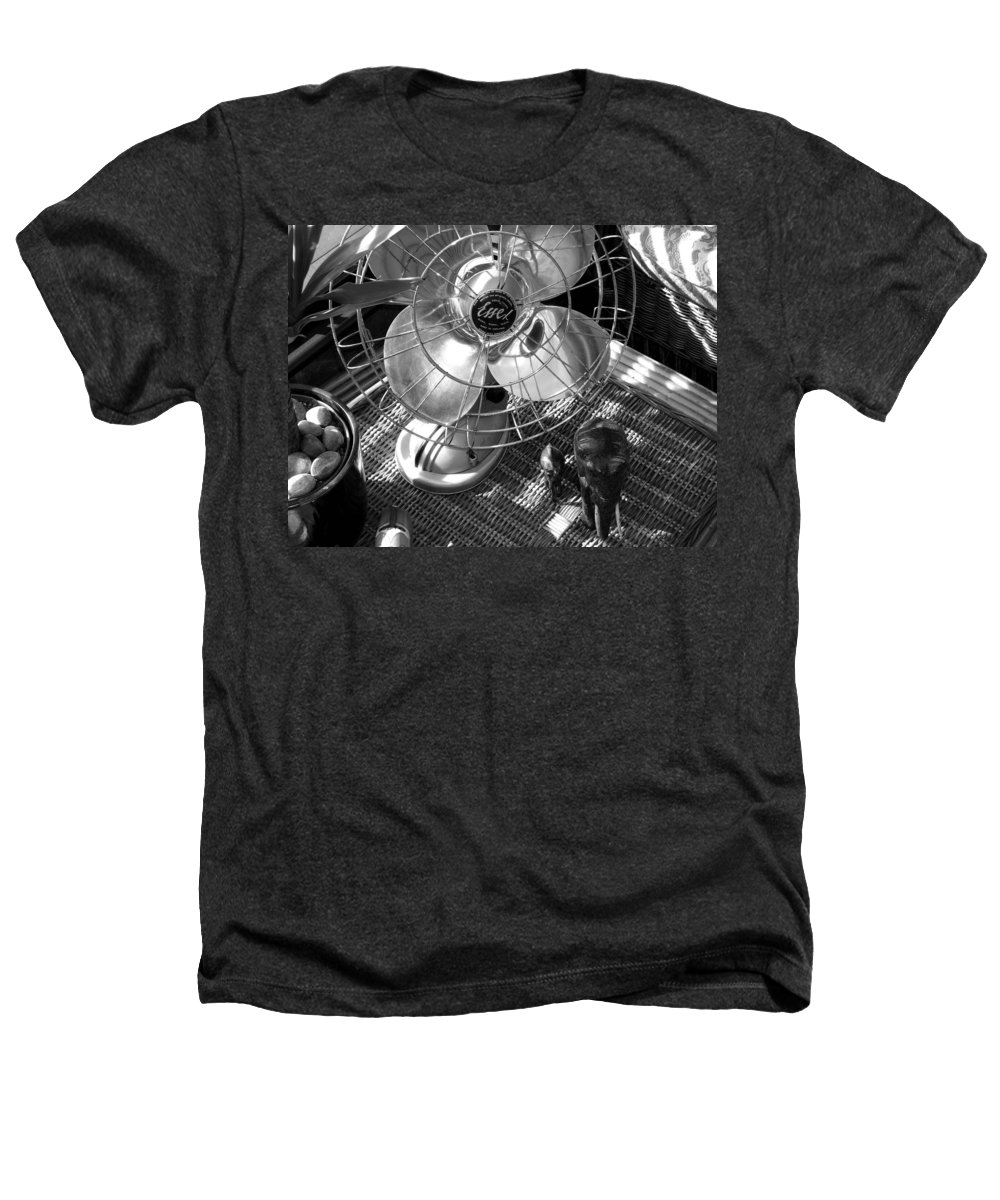 Still Life Heathers T-Shirt featuring the photograph Elephant Walk by Charles Stuart