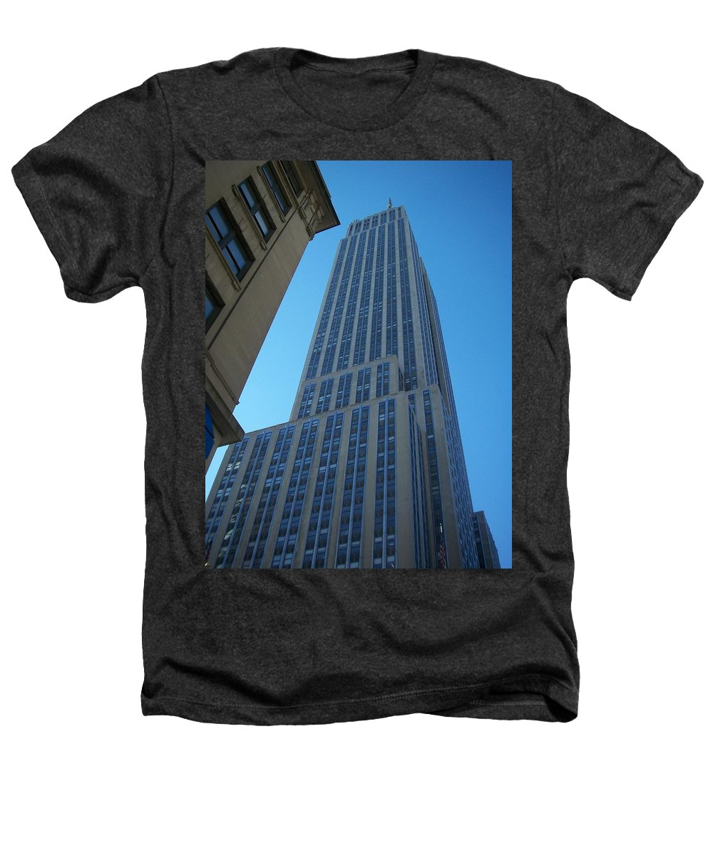 Emoire State Building Heathers T-Shirt featuring the photograph Empire State 2 by Anita Burgermeister