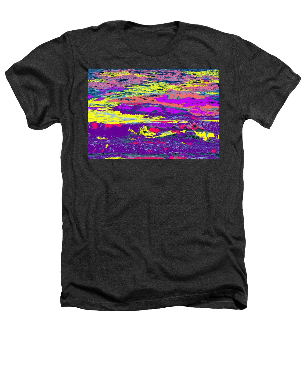 Ocean Heathers T-Shirt featuring the photograph Fiery Passion by Ian MacDonald