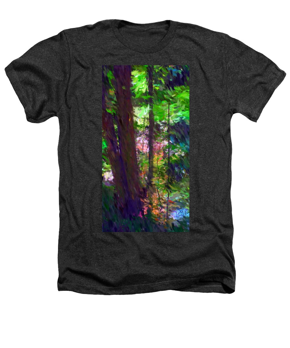 Digital Photography Heathers T-Shirt featuring the digital art Forest For The Trees by David Lane