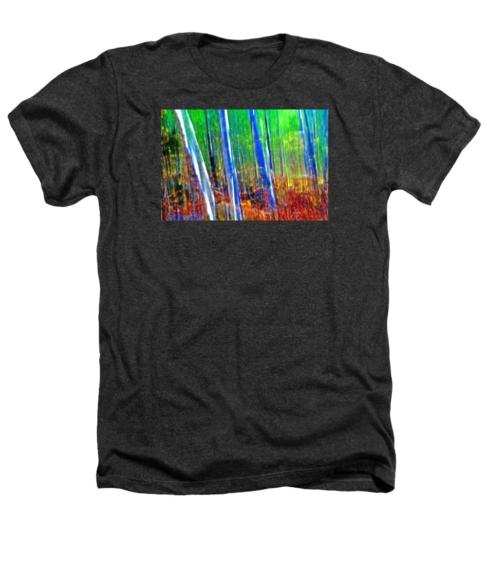 Forest Heathers T-Shirt featuring the photograph Forest Magic by Bill Morgenstern