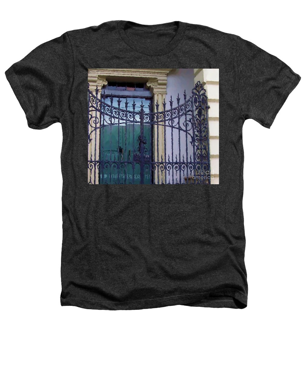 Gate Heathers T-Shirt featuring the photograph Gated by Debbi Granruth