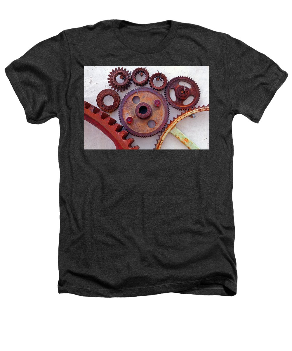Gears Heathers T-Shirt featuring the photograph Ghost by Skip Hunt