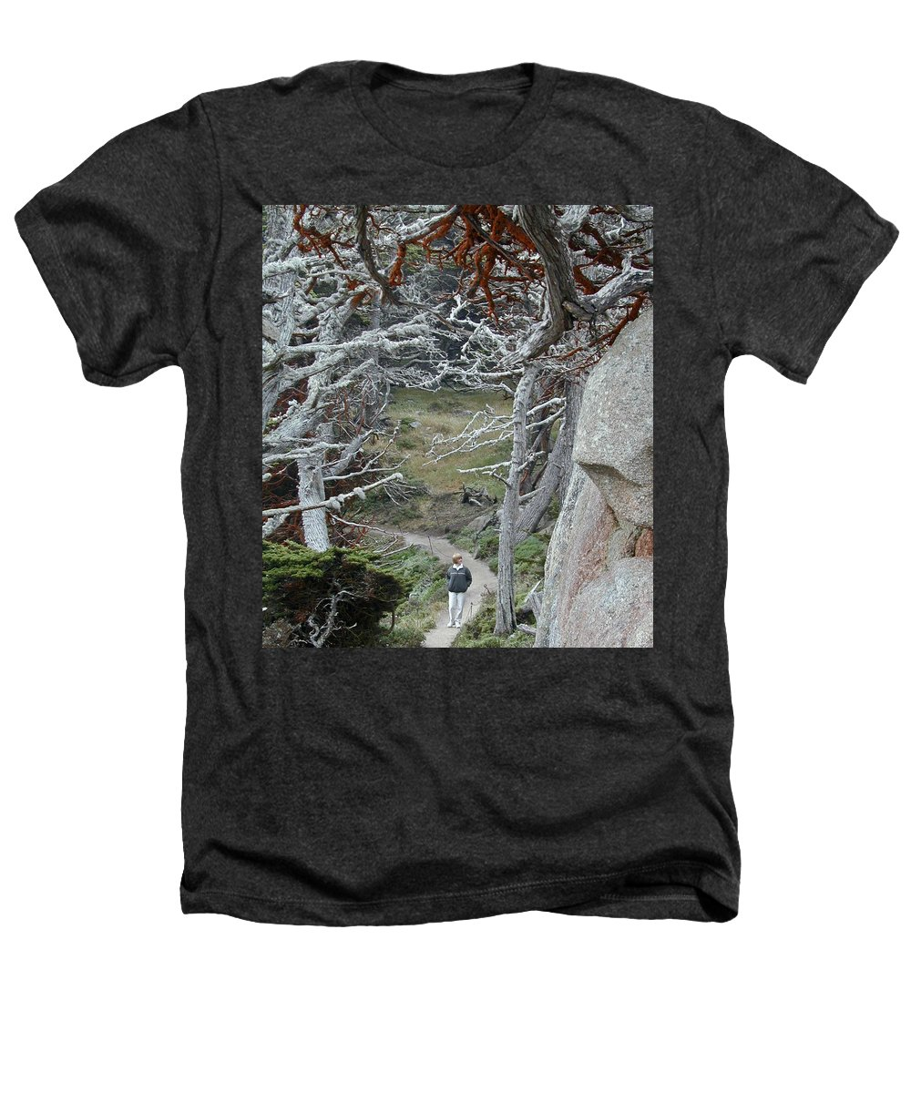 Lichens Heathers T-Shirt featuring the photograph Ghost Trees by Douglas Barnett