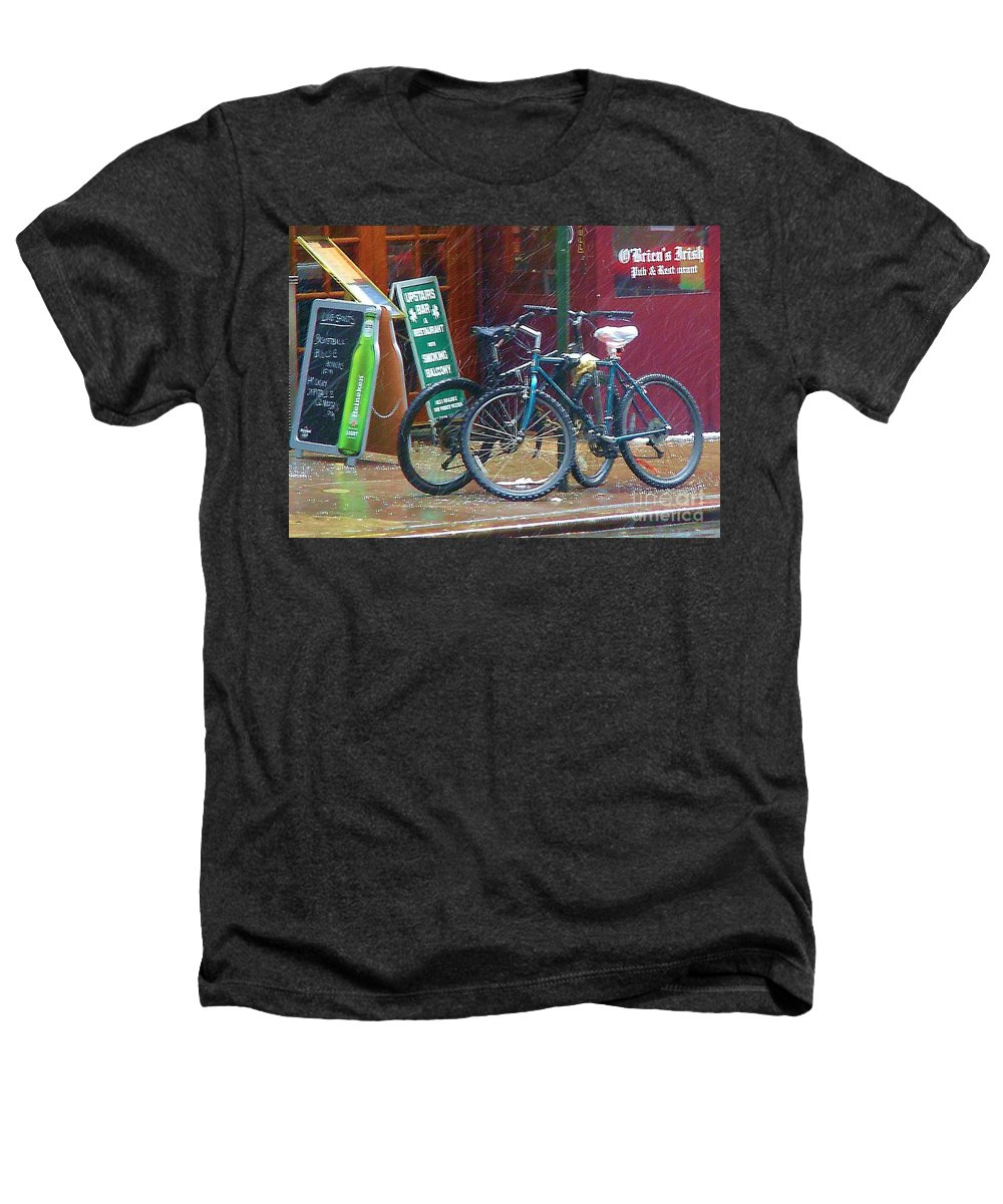 Bike Heathers T-Shirt featuring the photograph Give Me Shelter by Debbi Granruth