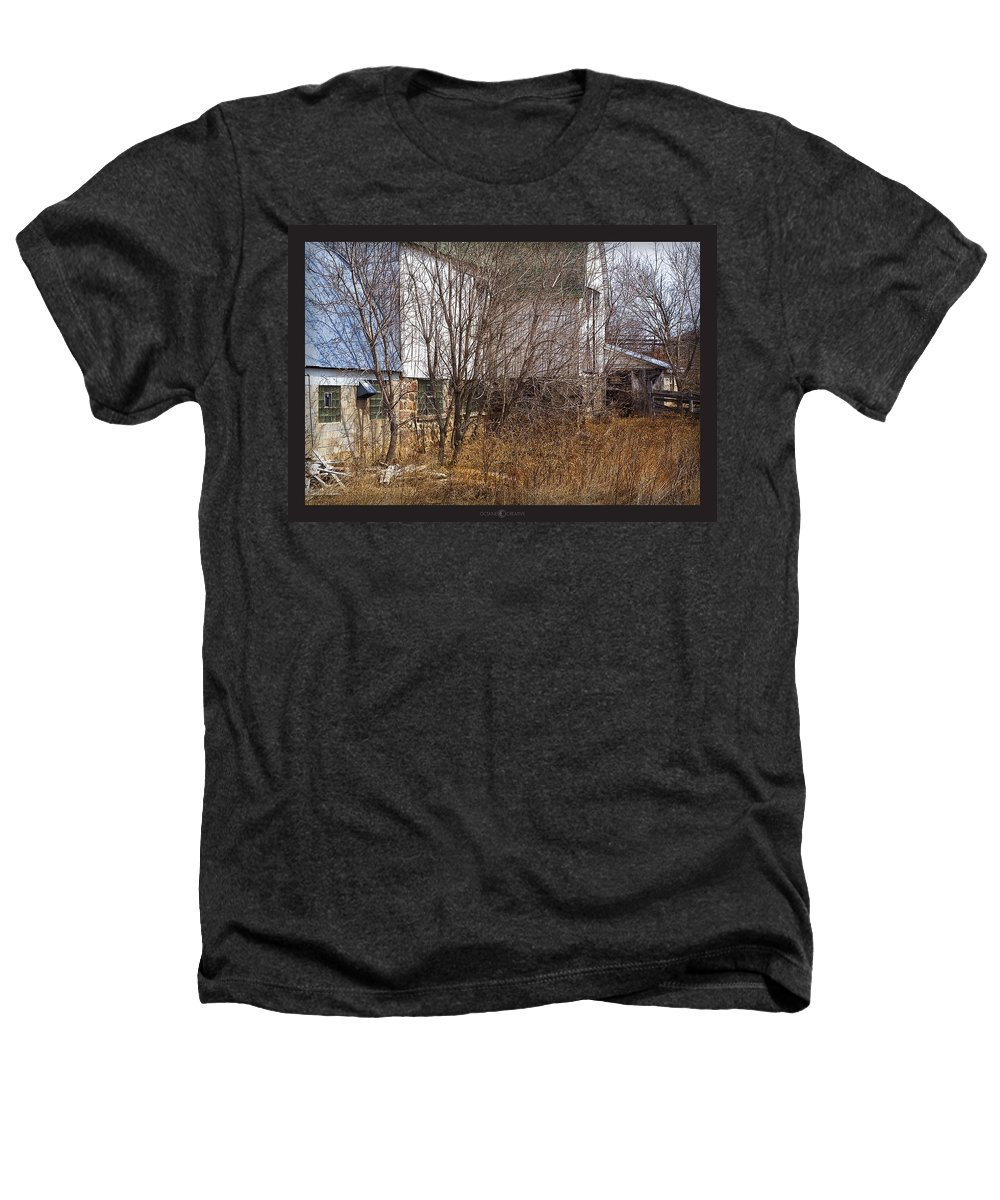 Barn Heathers T-Shirt featuring the photograph Glass Block by Tim Nyberg