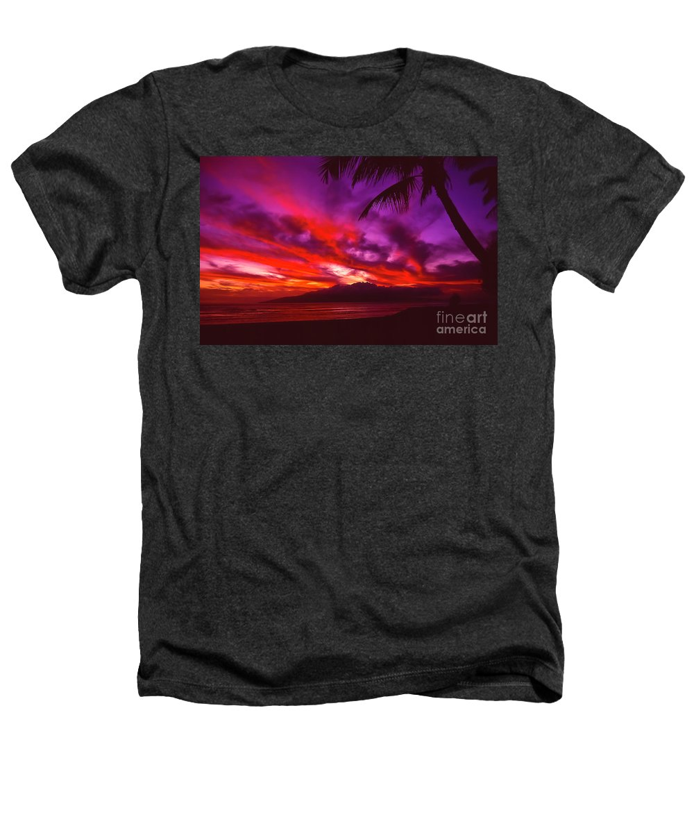 Landscapes Heathers T-Shirt featuring the photograph Hand Of Fire by Jim Cazel