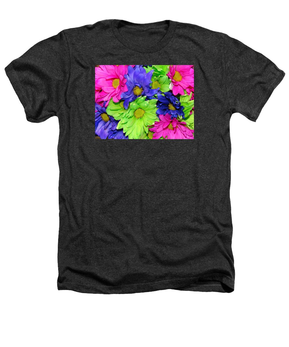 Flowers Heathers T-Shirt featuring the photograph Happiness by J R  Seymour