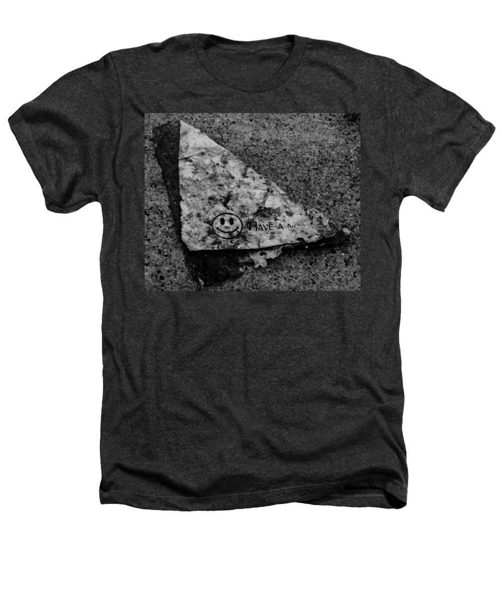 Debris Heathers T-Shirt featuring the photograph Have A Nice Day by Angus Hooper Iii