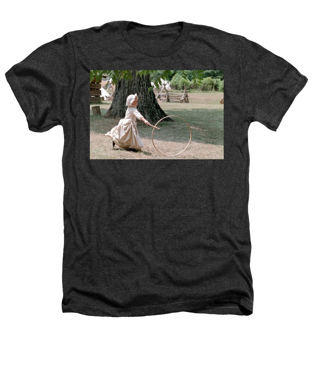 Hoop Heathers T-Shirt featuring the photograph Hoop by Flavia Westerwelle