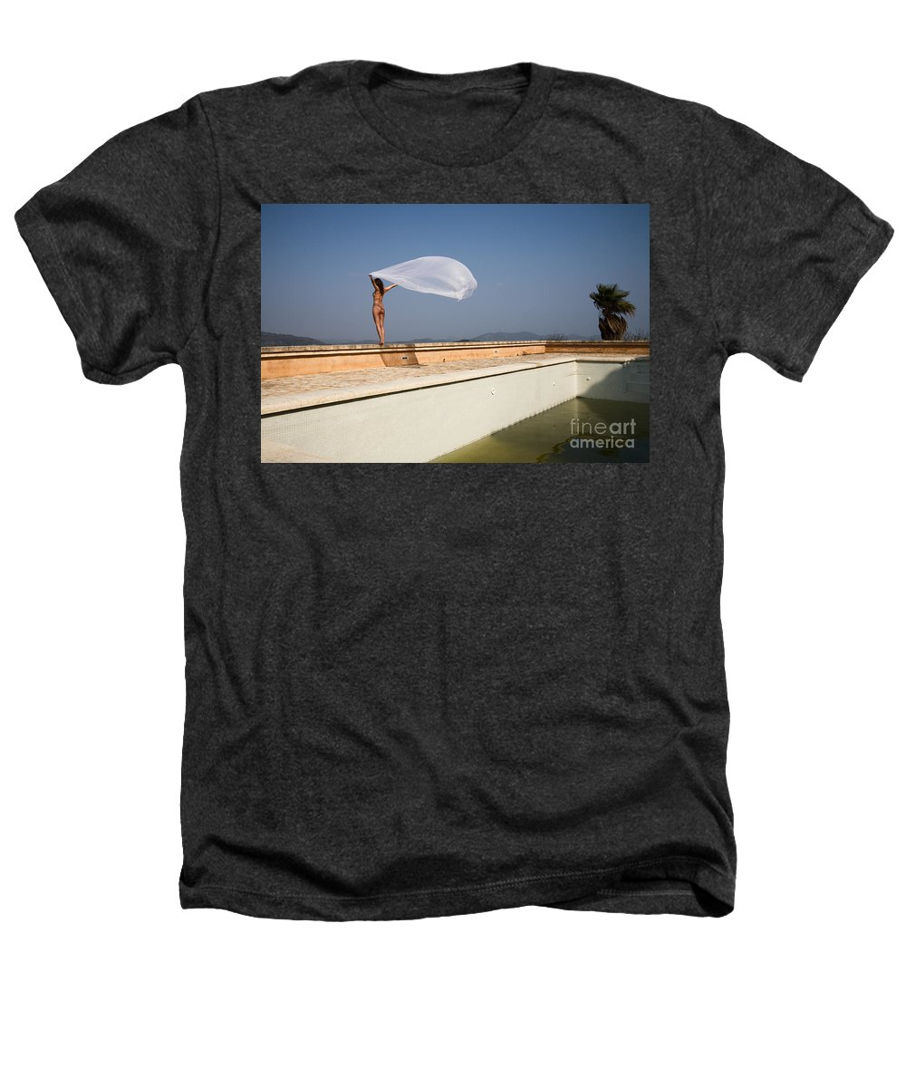 Sensual Heathers T-Shirt featuring the photograph I Will Fly To You by Olivier De Rycke