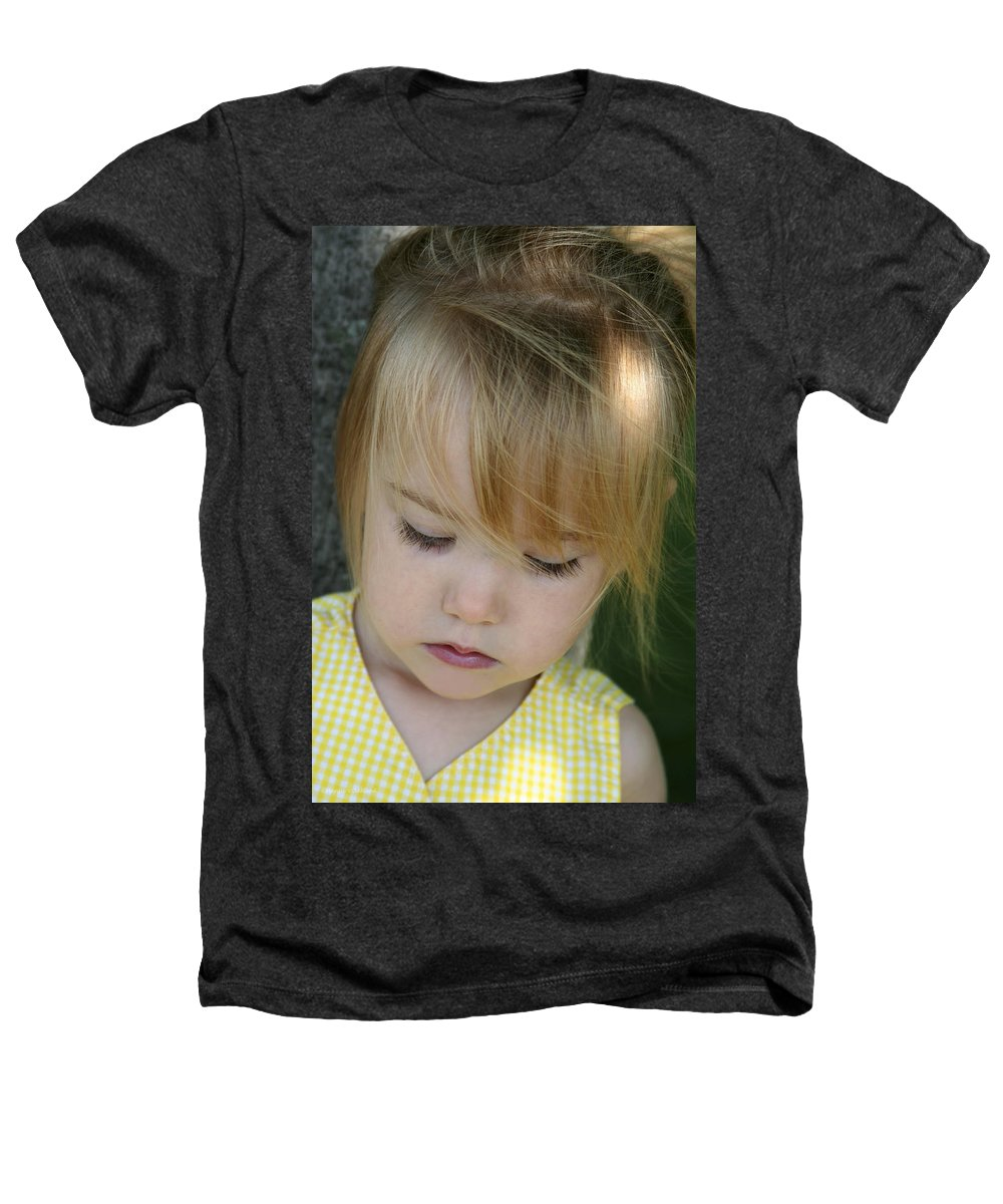 Angelic Heathers T-Shirt featuring the photograph Innocence II by Margie Wildblood