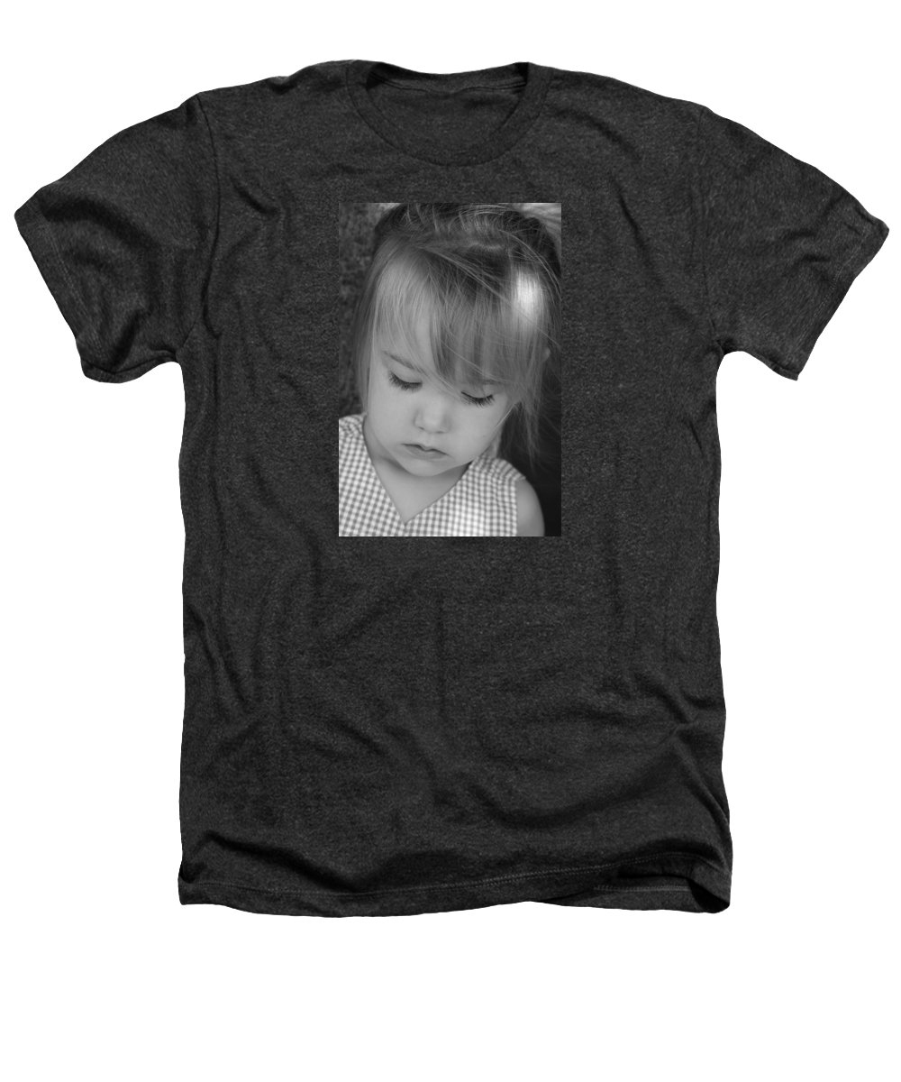 Angelic Heathers T-Shirt featuring the photograph Innocence by Margie Wildblood