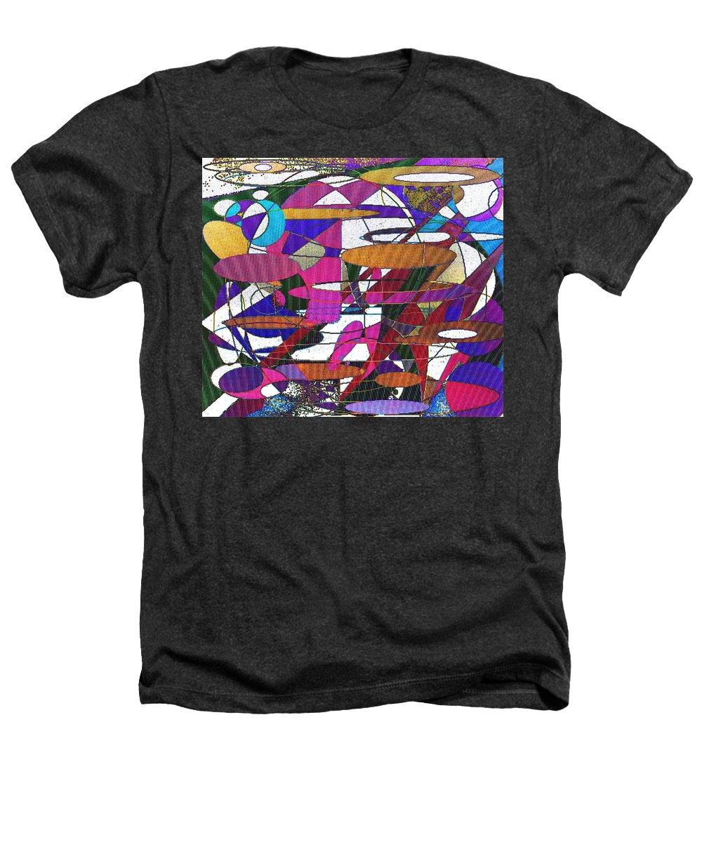 Abstract Heathers T-Shirt featuring the digital art Intergalatic by Ian MacDonald